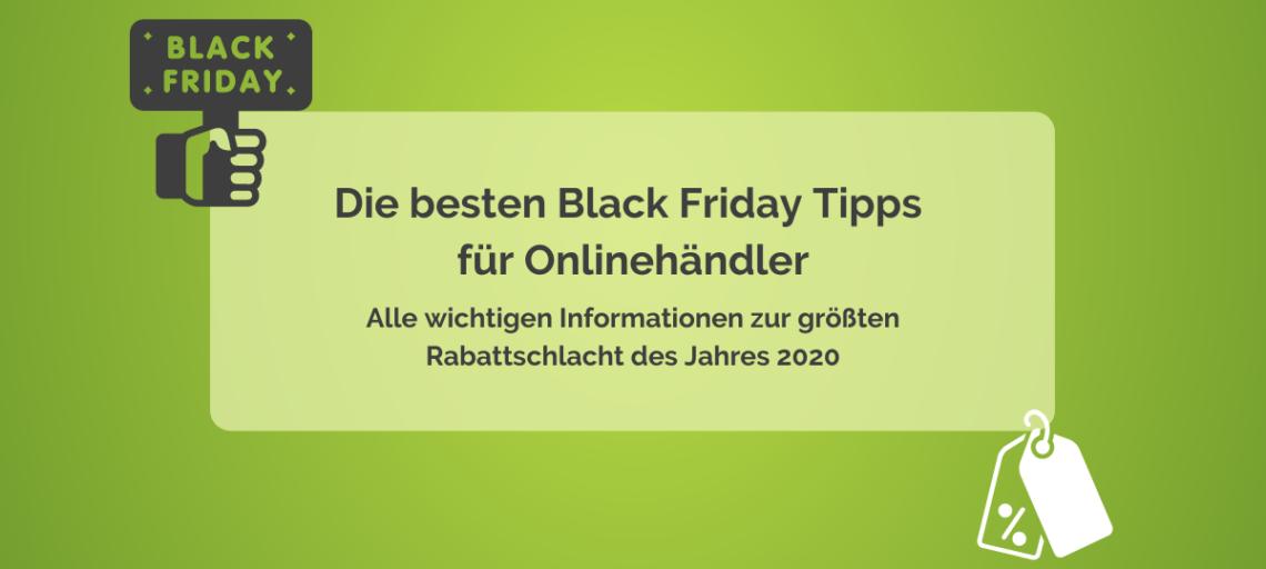 Die besten Black Friday Tipps für Onlinehändler