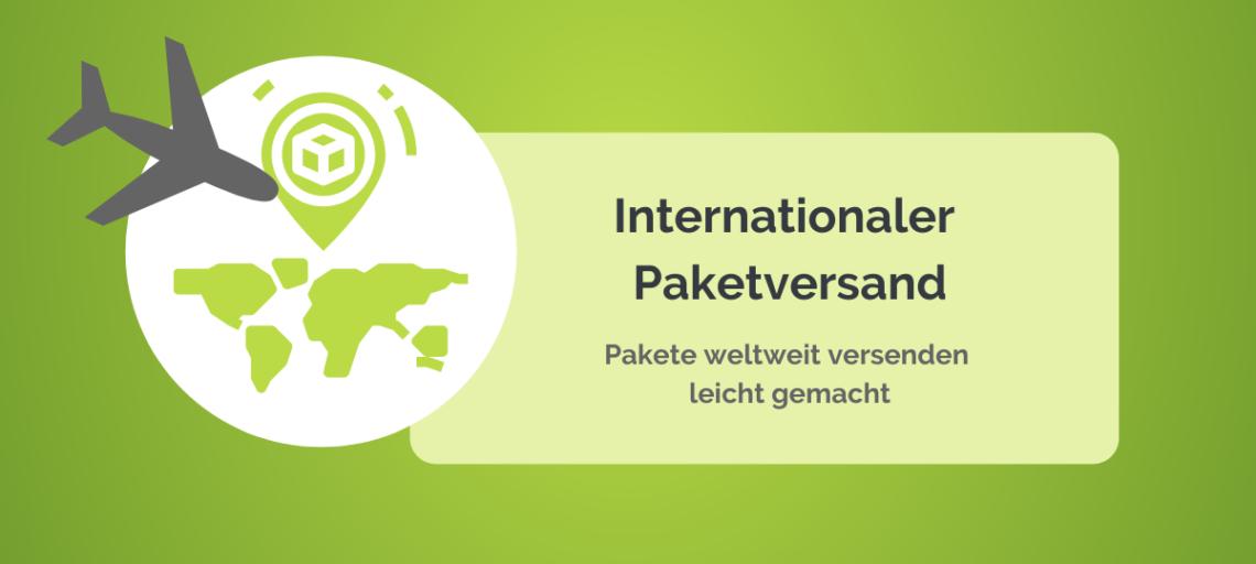 Internationaler Paketversand